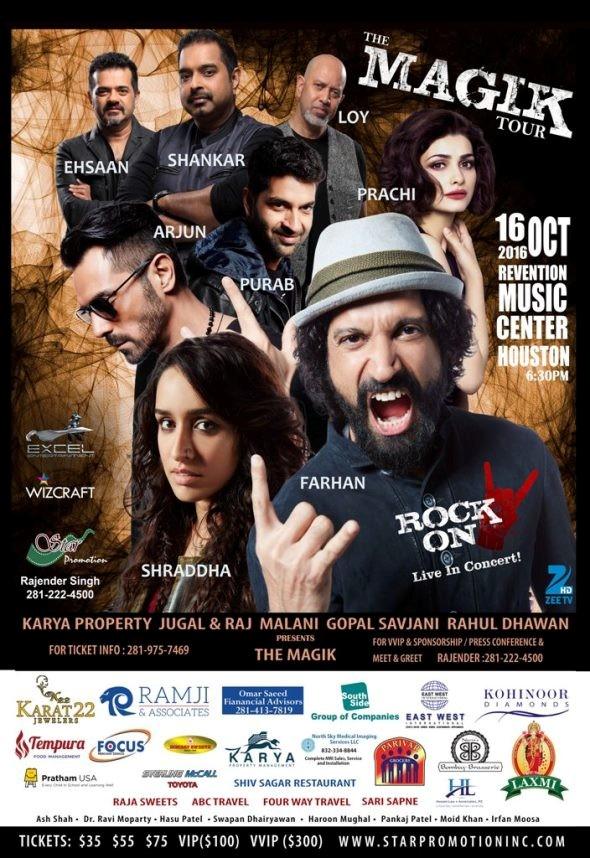 Shraddha Kapoor Tickets
