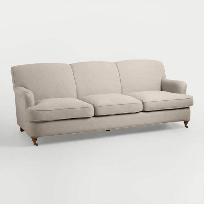English Roll Arm Sofas Under $1000