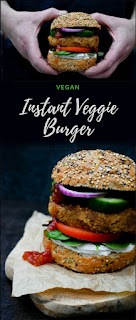 Husband approved instant veggie burger. Made in a flash, with added spices and a Scottish twist. Suitable for vegans