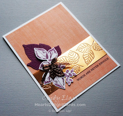 Heart's Delight Cards, Rooted in Nature, Sympathy Card, Stampin' Up!