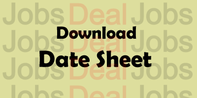 CCS University Date Sheet 2017