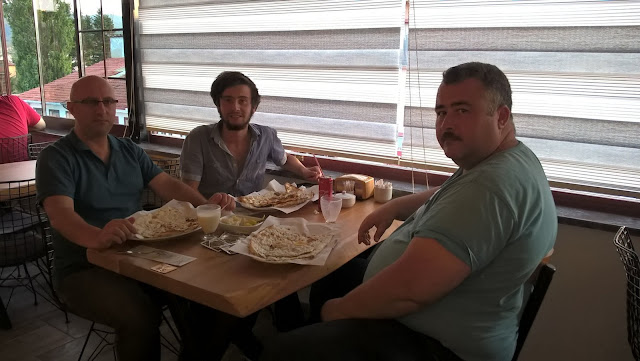 Aydın Çufaoğlu, Harun İstenci ve Ömer Demir SMMM Kastamonu Daday Memiş Etli Ekmek'de