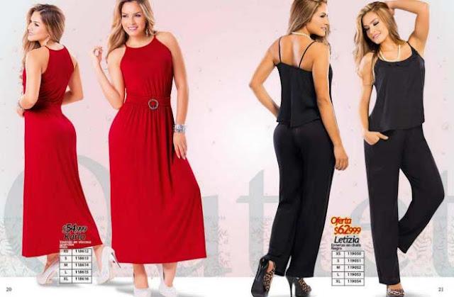 vestidos rojo