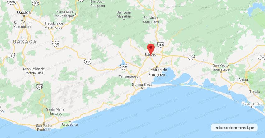 Temblor en México de Magnitud 3.8 (Hoy Miércoles 27 Mayo 2020) Sismo - Epicentro - Ixtepec - Oaxaca - OAX. - SSN - www.ssn.unam.mx