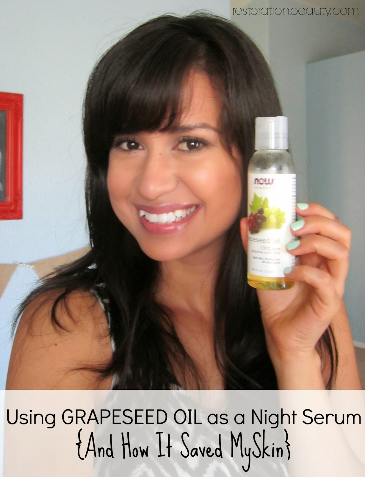 Restoration Beauty: Using Grapeseed Oil as a Night Serum