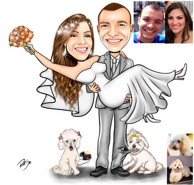 #casamento #cartoon #desenho #brindes #banner #totem #lembrancinhas