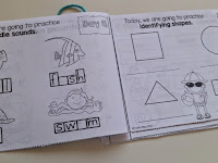 Summer Practice Packets for kindergarten, first grade, and second grade students. Send home to prevent the summer slide. Low-prep summer review. It's as easy as PRINT- CUT- STAPLE!