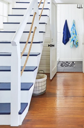 Nautical Staircase Idea