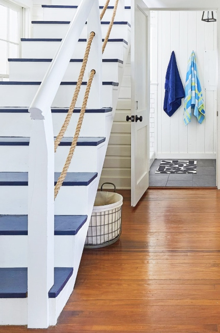 Nautical Staircase Idea