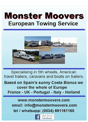 European caravan and 5th wheel delivery service