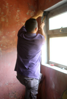 Window man back to fix the window