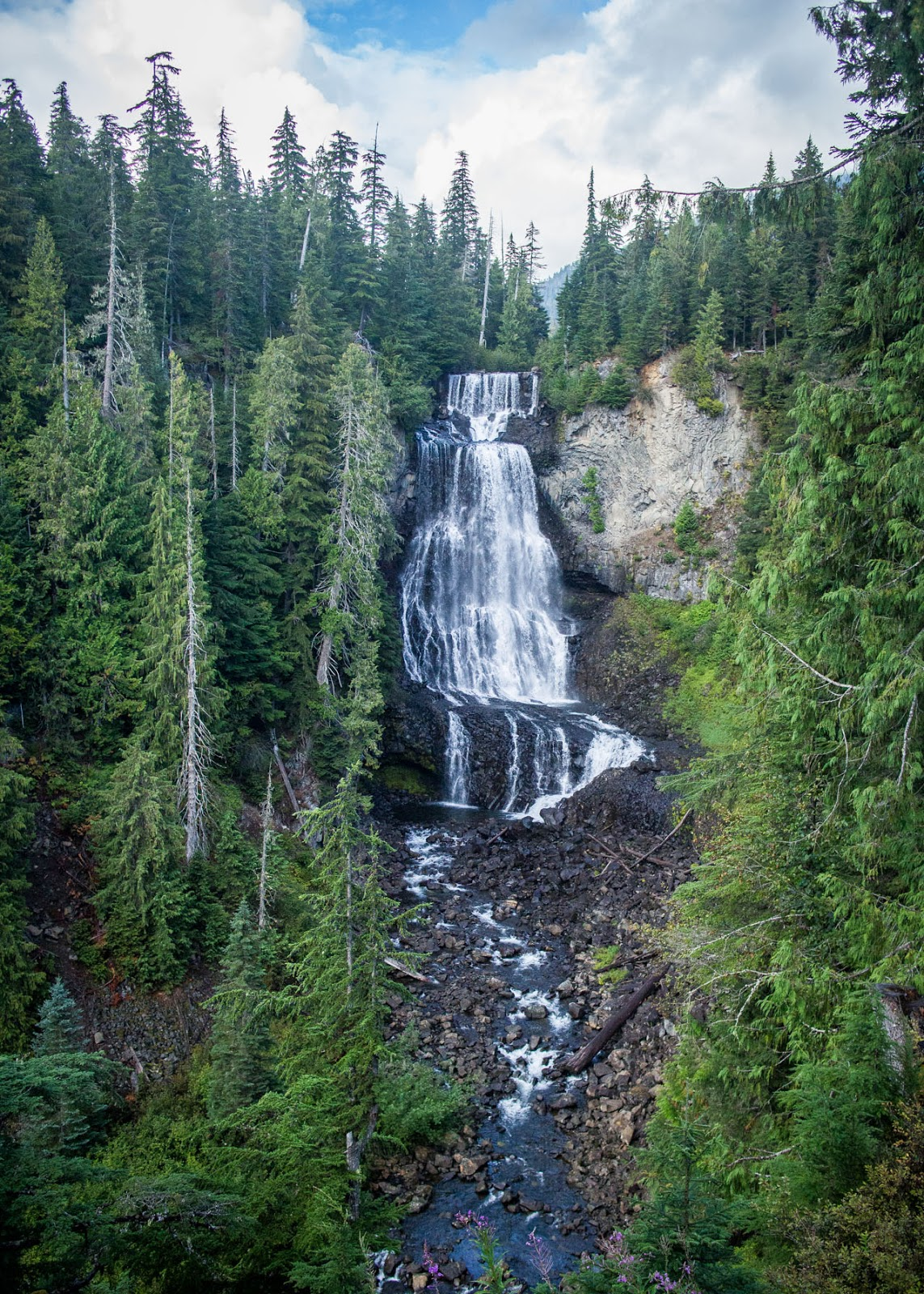 In My Dreams - Canadian Blogger - mini BC vacation - Travel diary - Alexander Falls