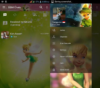 BBM Mod Tinkerbell V3.2.5.12 Apk