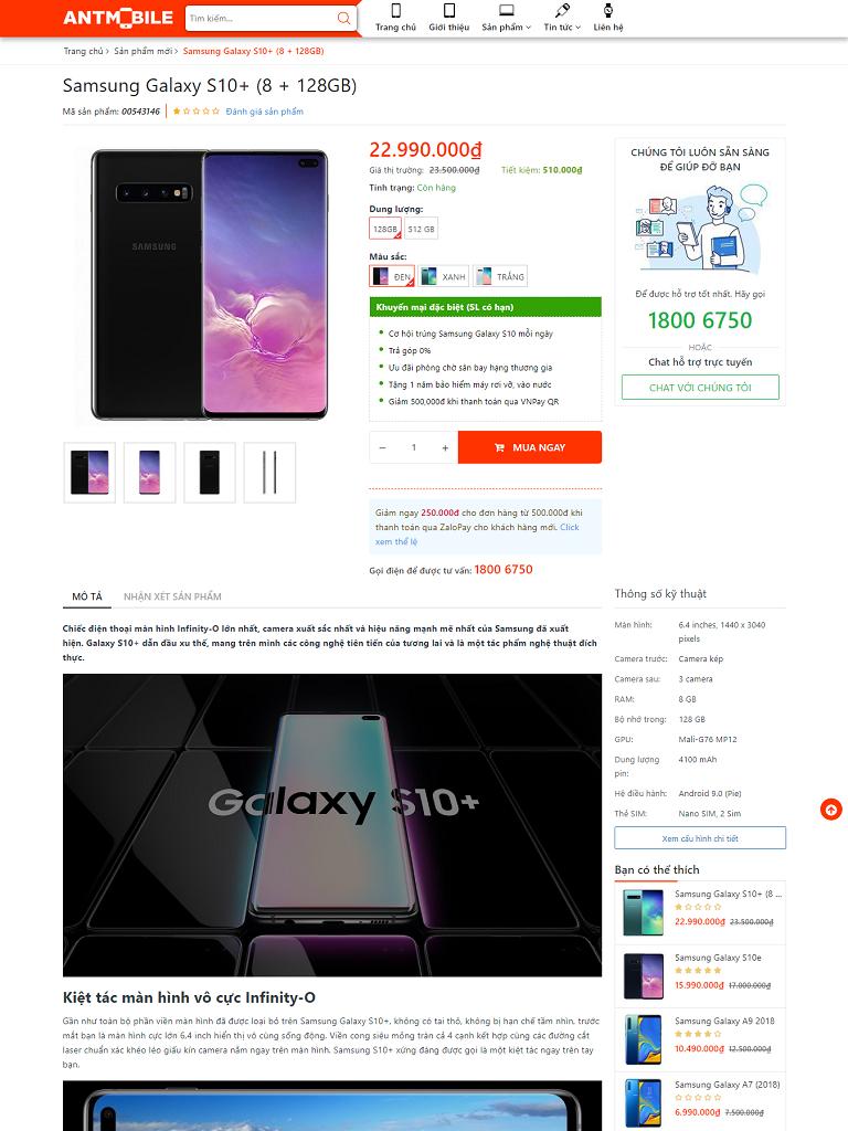 Template blogspot bán điện thoại chuẩn đẹp - Ảnh 2