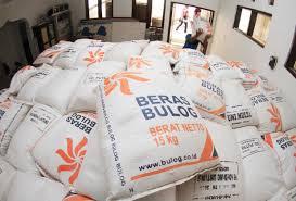 beras raskin dari bulog jatim