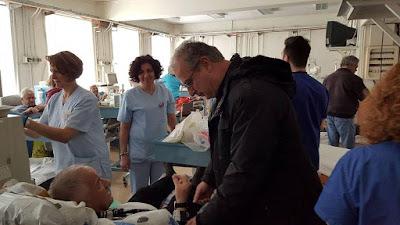 Αποτέλεσμα εικόνας για Γιάννης Σηφάκης νοσοκομείο Έδεσσας