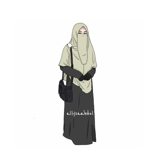 Dp Bbm Muslimah Berhijab Syar I Serial Serials