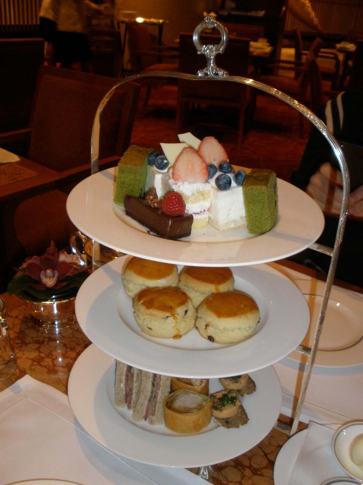 Afternoon Tea at The Lobby. The Peninsula Tokyo ~ I'm Made of Sugar! - Chihiro's food blog