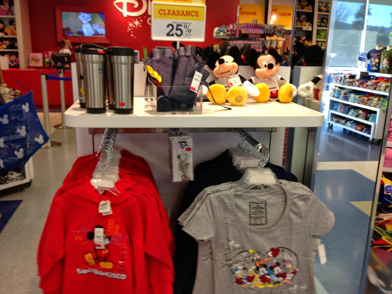 Lojas de brinquedos Disney Store San Francisco