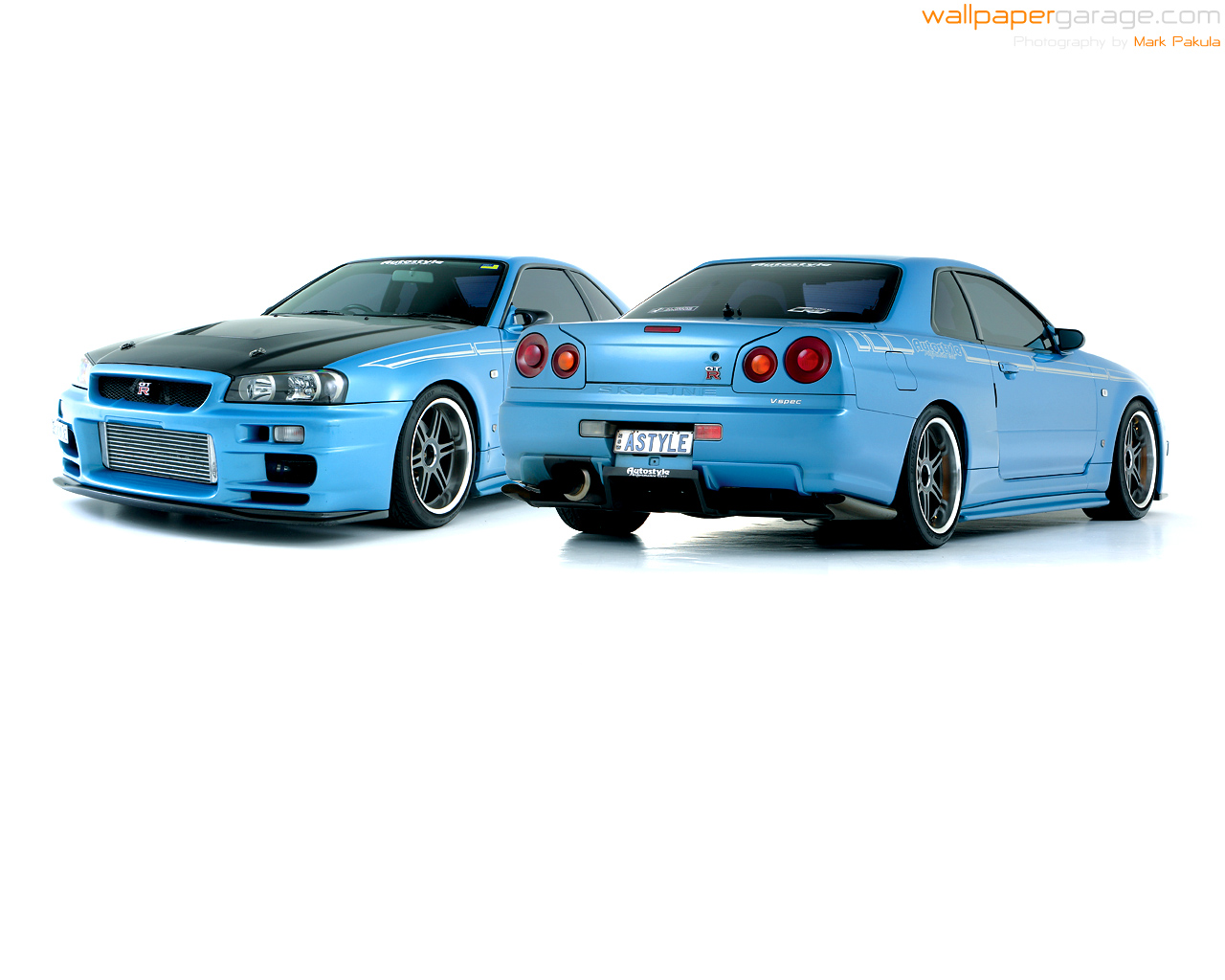 Car Pics And Vids Nissan Skyline R34 Gt R Collection 18