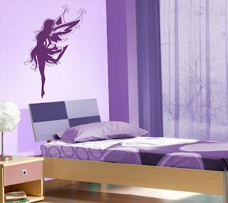 Vinilos y papel pintado para la decoración de interiores.