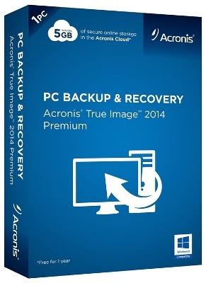 Download Acronis True Image Premium 2014 + Ativador