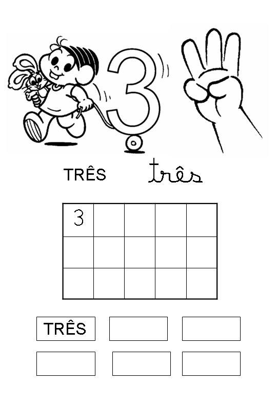 educaÇÃo infantil profª dessire atividade com nÚmeros para