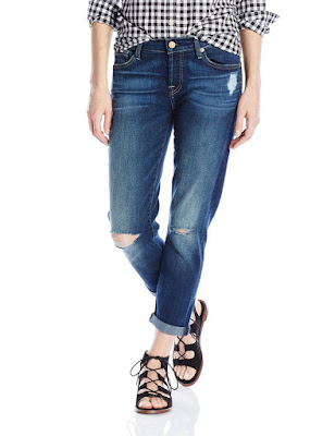 7 For All Mankind Joefina Boyfriend Jean $56 (reg $198)