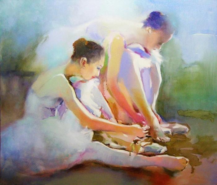 Молодой литовский художник