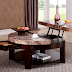 Perfectly Fit and Compact with Round Coffee Table with Storage
