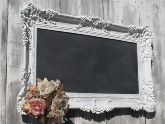 Revived Vintage Chalkboards Decorative Ornate Wedding