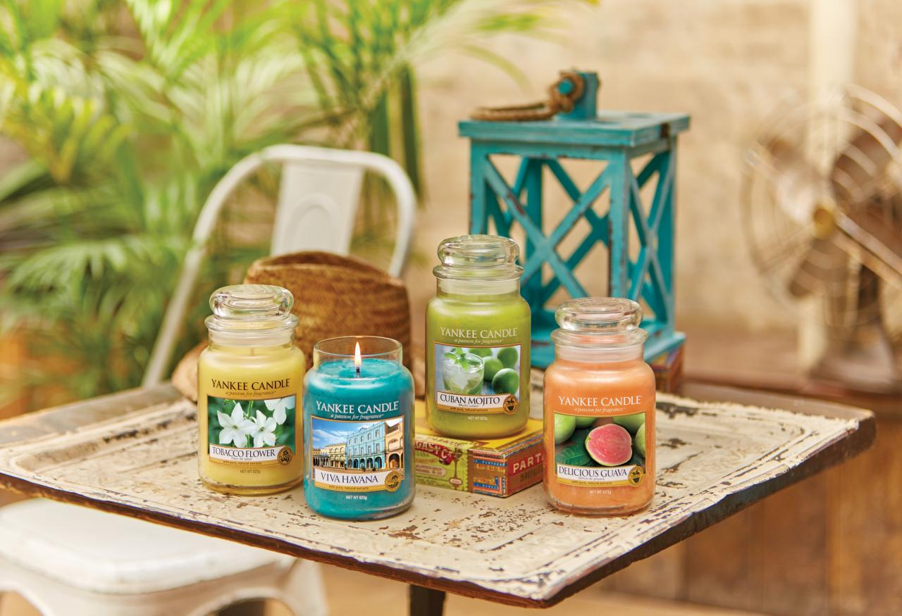 Yankee Candle  Havana Collection