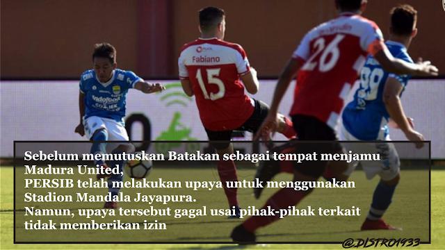 Persib Vs Madura United  Selasa 9 Oktober 2018 Stadion Batakan Balipapan