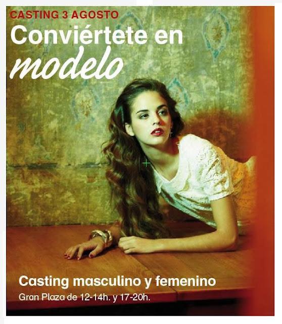 Conviértete en modelo este viernes en la Vaguada