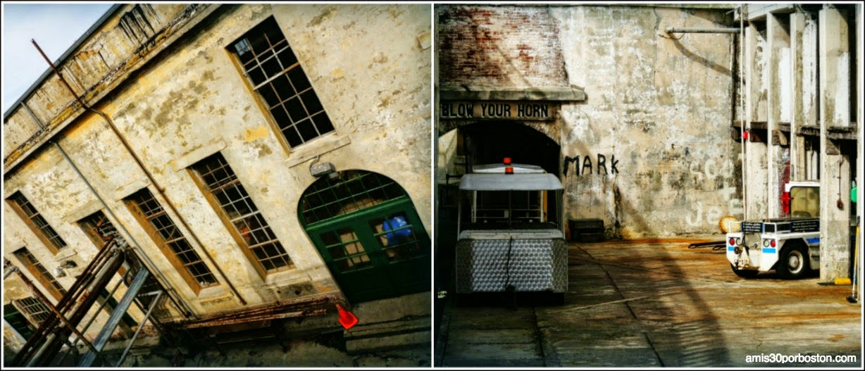 La Prisión de Alcatraz: Edificios