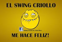 el swing criollo me hace feliz,