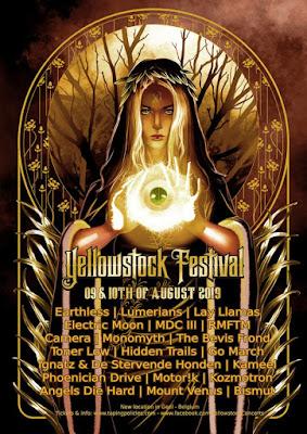 Yellowstock Festival 2019 poster