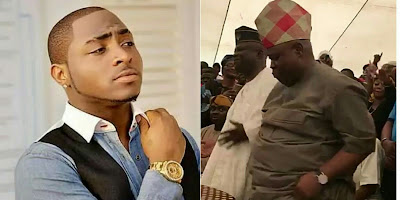 Image result for Senator Adeleke and davido