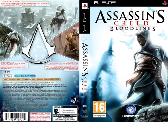 Download Assasin's Creed Bloodlines PPSSPP Iso Cso Android