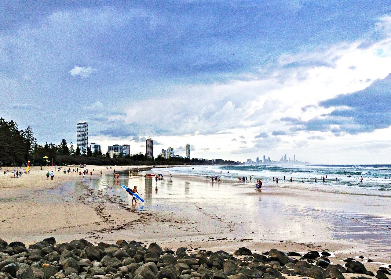 黃金海岸-衝浪者天堂-海灘-推薦-景點-伯利角-Burleigh Heads-Gold-Coast-Surfers-Paradise-Beach