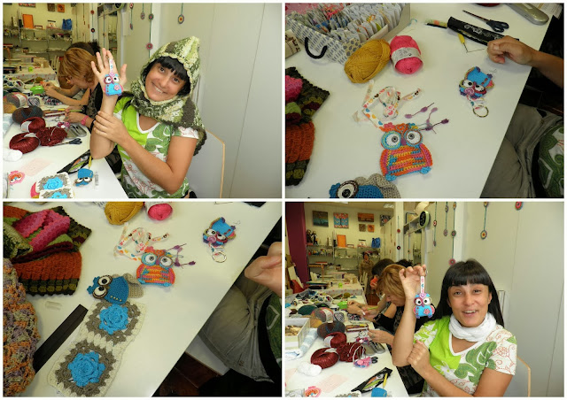 buhos, crochet, motivos, tutoriales, ganchillo