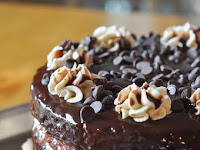 Cookie Dough Brownie Cake