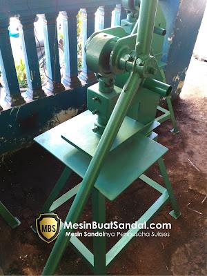 Mesin Cetak Sandal, Mesin Pond Sandal, Mesin Buat Sandal Murah