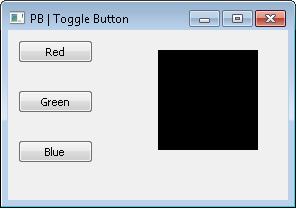 Source Code Untuk Membuat Toggle Button Dengan Python Menggunakan Library PySide