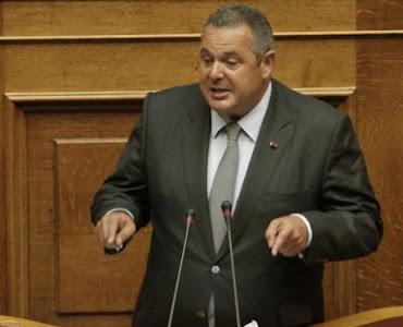 Πάνος Καμμένος: «Ο ελληνικός λαός θα πρέπει να αποφασίσει με δημοψήφισμα για το όνομα των Σκοπίων» [Βίντεο]