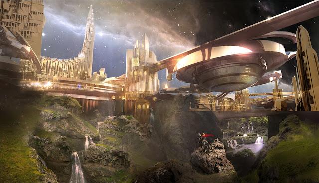 Asgardia, Negara Luar Angkasa Pertama! Ini Syarat Untuk Pindah Ke Sana... - Asgard