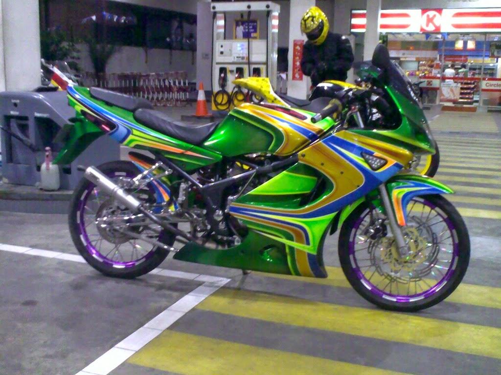 Koleksi Foto Modifikasi Motor Ninja Rr Ceper Terbaru Modispik Motor
