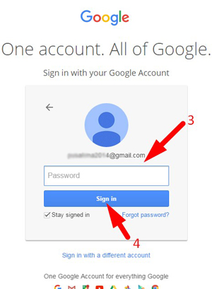 how to delete login device gmail