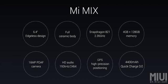 Harga dan Spesifikasi Xiaomi Mi Mix