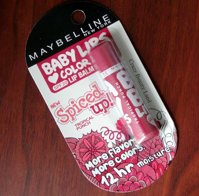Maybelline Baby Lips Spiced Up Tropical Punch Review n Swatches